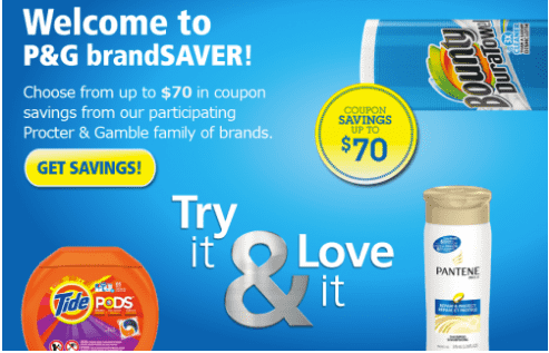 Order Your New Online Mail To Home Coupons From P G Brandsaver Now Live Hot Canada Deals Hot Canada Deals