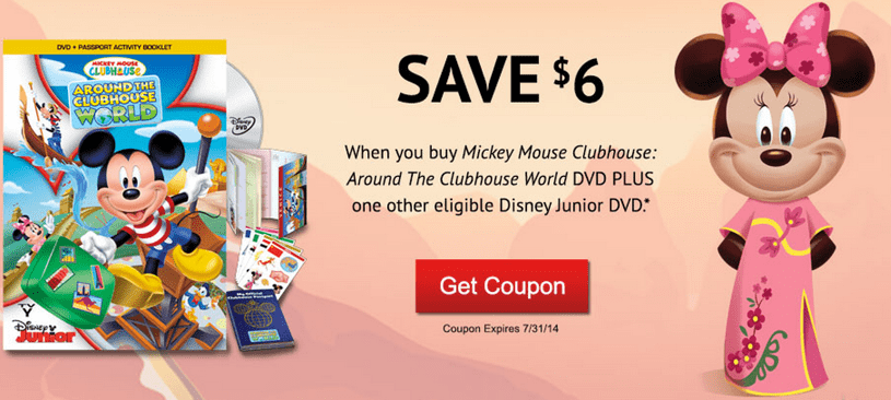 graphic relating to Disney World Printable Coupons referred to as Disney Canada Online video Printable Discount coupons in direction of Help you save $12 Even though Your self