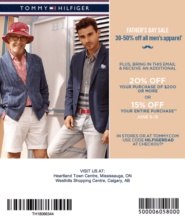 tommy promo code