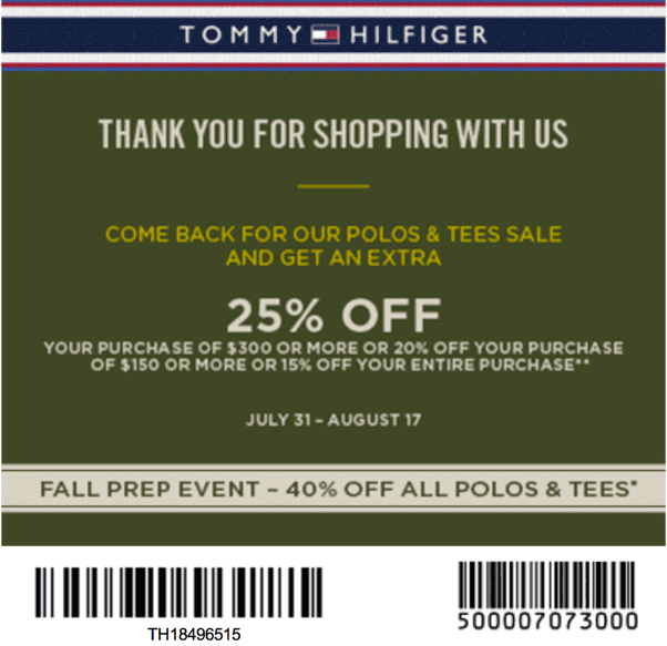 photograph about Tommy Hilfiger Outlet Coupon Printable named Tommy Hilfiger Canada Polo Tees Printable Coupon Sale: Attain