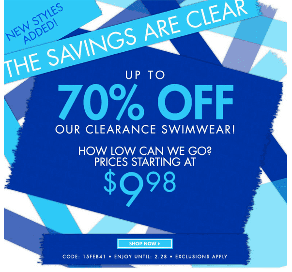Deal Costco Canada Online Offers Valid From Feb 28 To Mar: SwimSuitsForAll Clearance Sale: Save Up To 70% Off