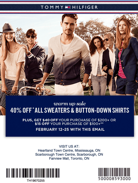tommy hilfiger canada valentine s day warm up sale save 40 off all sweaters button down. Black Bedroom Furniture Sets. Home Design Ideas