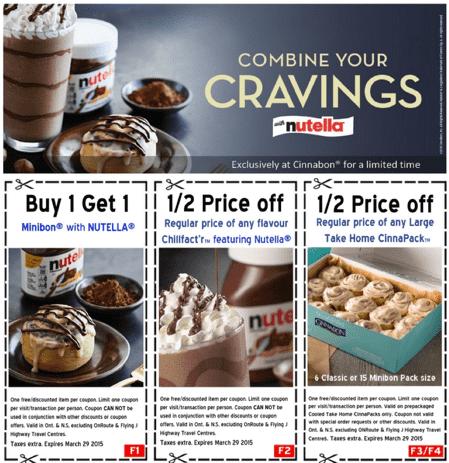 cinnabon coupons