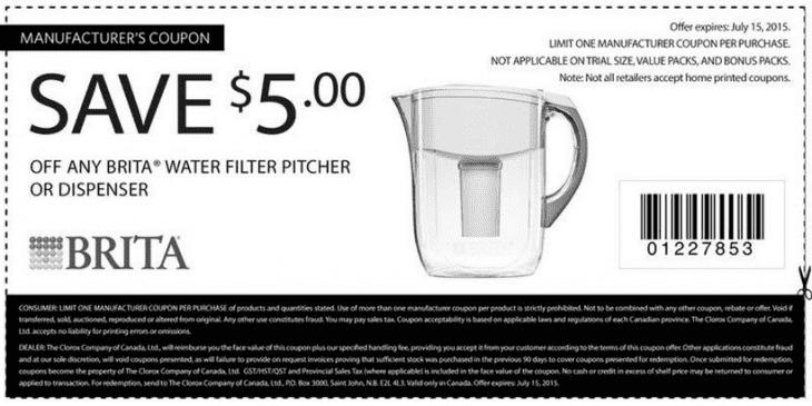 brita coupon
