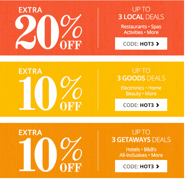 Groupon Canada Offers: Save an Extra 20% Off on Local Deals