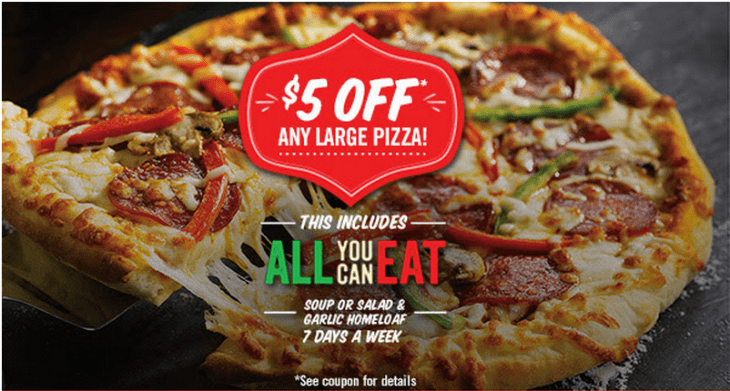 East side pizza coupons