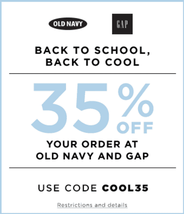 Nowadays, it's the face of Gap Inc., which covers not only Gap, but also Old Navy, Banana Republic, and Athletica! Since , Gap has been offering online shopping, and it's created even more ways to save. The e-commerce model makes it easy to use Gap coupons and promo codes to save even more on your clothing purchase!/5().