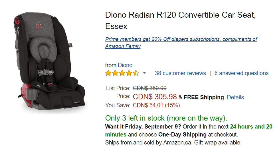 offers save 15 on diono radian r120 convertible car seat essex for hot. Black Bedroom Furniture Sets. Home Design Ideas