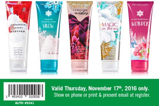 bath body works canada deals 4 95 for signature collection body
