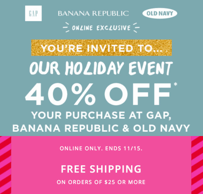 Nov 28,  · Old Navy Canada is here with incredible discounts! Use the coupon code to enjoy an additional 20% discount on any order and free delivery when spend over $50! Bag this special offer!5/5.