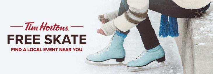 Tim Hortons Canada Free Skate