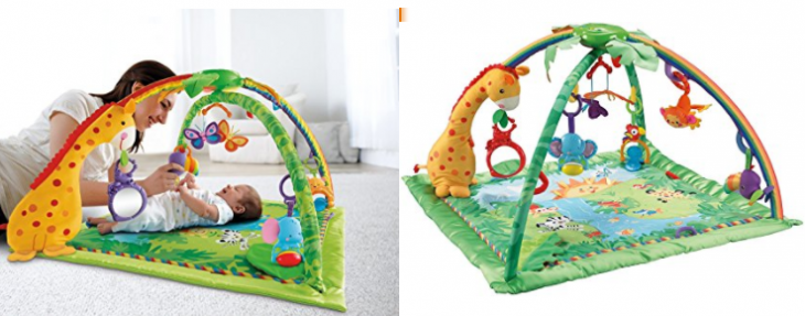 37905bd651c2 Amazon Canada Offers  Save 44% Fisher-Price Rainforest Soft Gym   43 ...