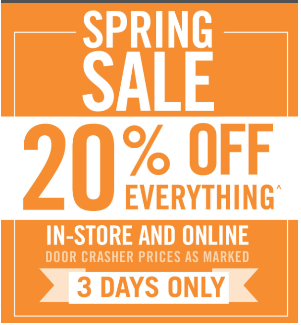 cf8f3fd5c31 Mark's Canada Spring Sale: Save 20% off Everything + FREE Shipping ...