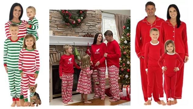 Family Christmas Pajamas Canada.Amazon Canada Christmas Deals Family Matching Christmas