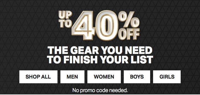 0c4600ed9c2ba9 Under Armour Canada Holiday Sale  Save Up to 40% Off Outlet + 25 ...