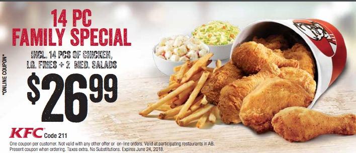 Fast Food Coupons Alberta