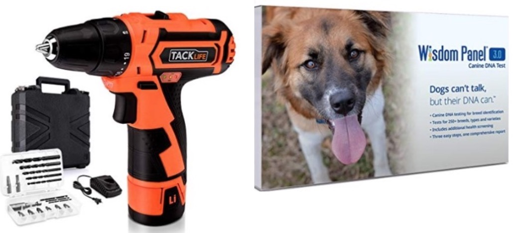 4587208a02e Amazon Canada Early Prime Day Today s Deals  Save 36% on Wisdom Panel  Canine DNA Test + Save 20% on Tacklife Power Tools + Pre Prime Day Promotion