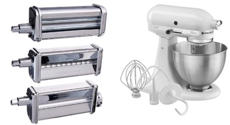 Amazon Canada Today's Deals: Save 37% on KitchenAid KPRA Pasta ... on kitchenaid pasta sheet roller, kitchenaid pasta roller on sale, kitchenaid pasta maker parts, kitchenaid pasta maker attachment, kitchenaid pasta attachment set, kitchenaid pasta excellence set, kitchenaid pasta cutter, kitchenaid mixer pasta kit, kitchenaid pasta attachment kohl's, kitchenaid pasta excellence kit prices,