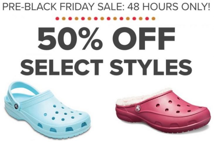 a8d6ca14023213 Crocs Canada. has Pre-Black Friday Sale available now