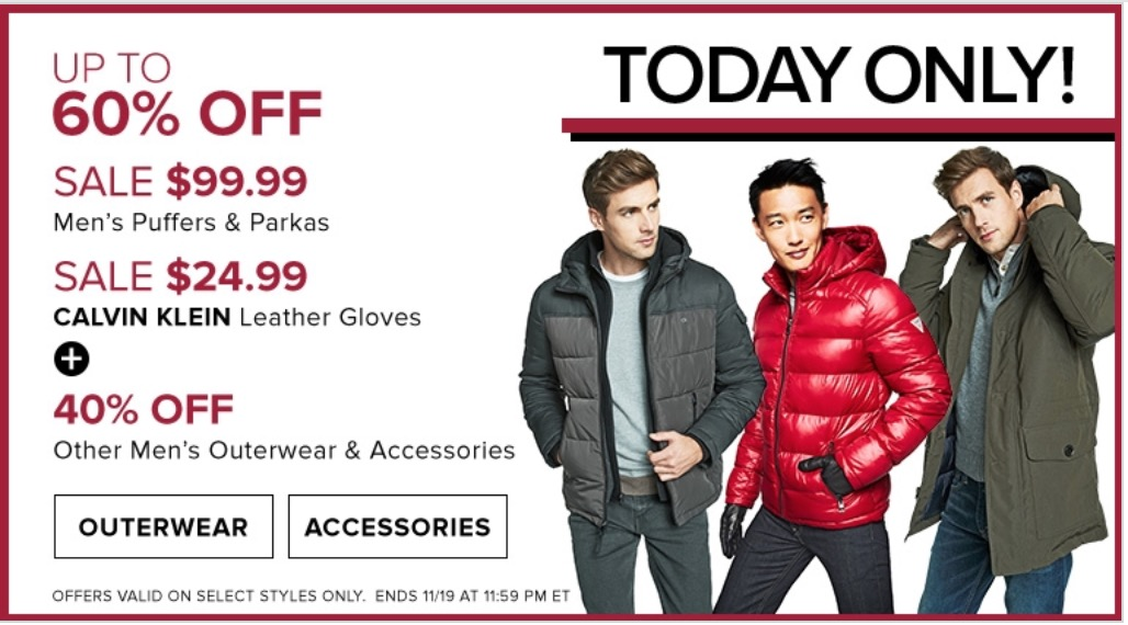 Hudson's Bay Canada Pre Black Friday Daily Deals: Save Up to