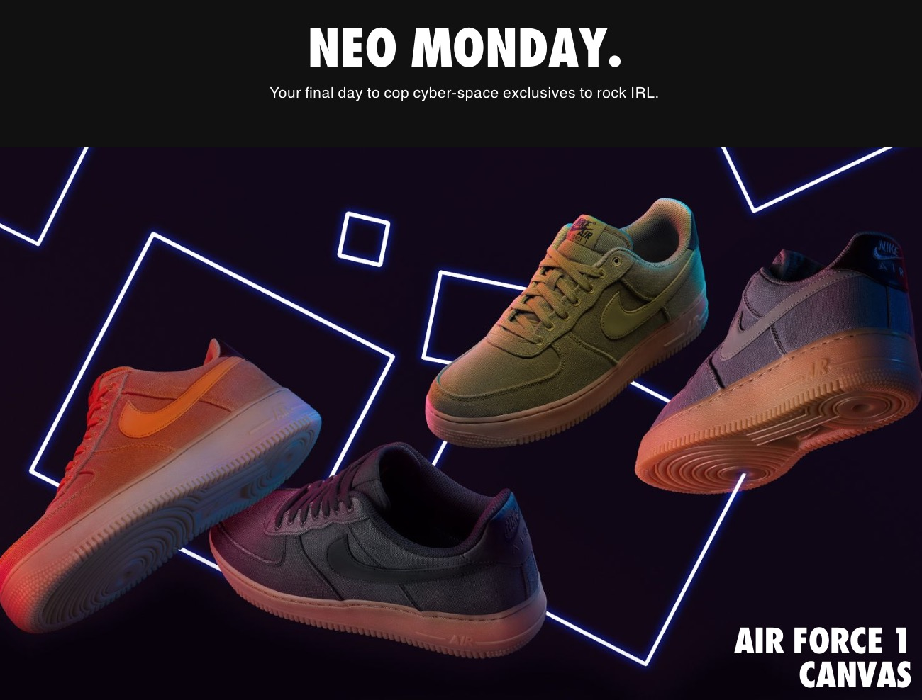 the best attitude 989a0 f57fb Nike Canada Cyber Monday Sale Starts Now: Save 20% Off + ...