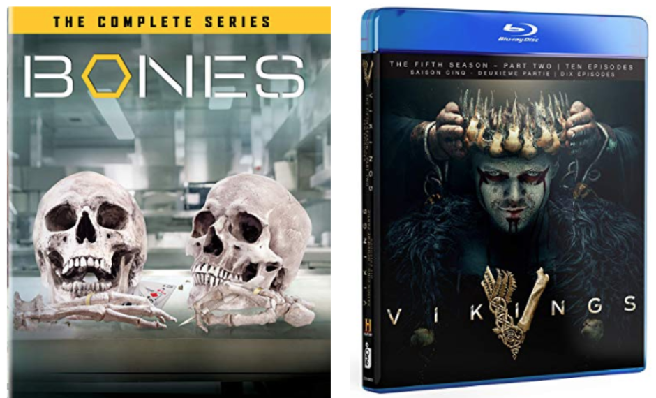 Amazon Canada Today's Deals: Save 48% off Bones - The Complete