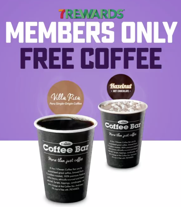 7-Eleven Canada FREE Coffee, Today | Canadian Freebies