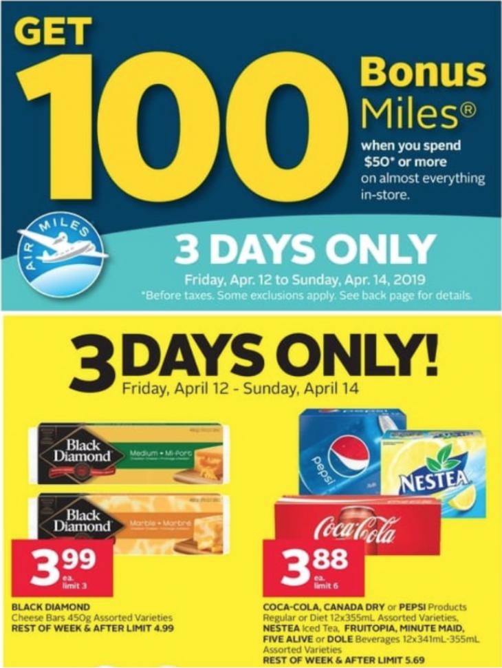 101249fc350fd Rexall Pharma Plus Drugstore Canada New Coupon   Flyers Deals  Get 100  Bonus Air Miles + 3 Days Deals