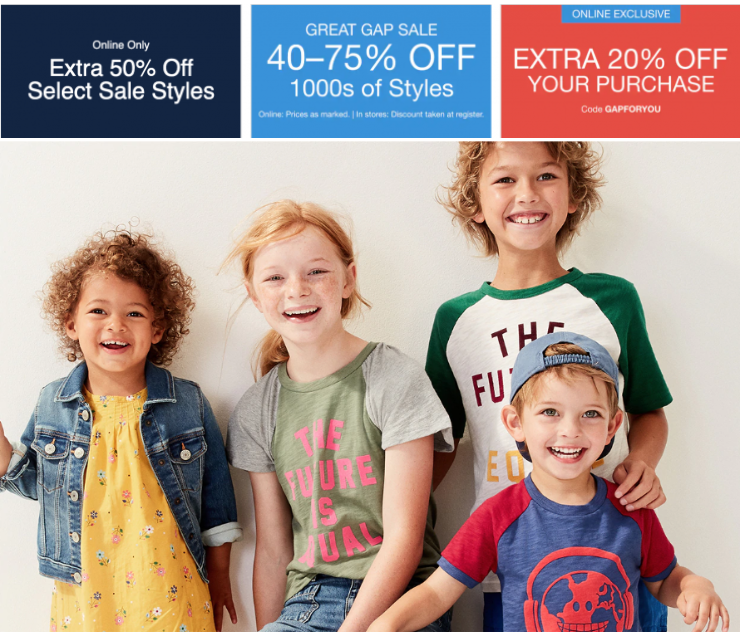 b36df72729bc6 Gap Canada Deals: Save 40% – 75% off 1000s of Styles + Extra 20% off ...
