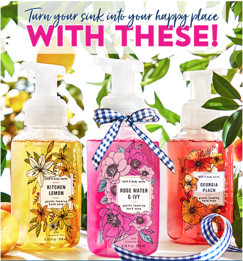 Batb Body Works Canada Semi Annual Sale 3 Wick Candles For 15 Body Care For 5 95 Hand Soaps 5 For 25 Canadian Freebies Coupons Deals Bargains Flyers Contests Canada